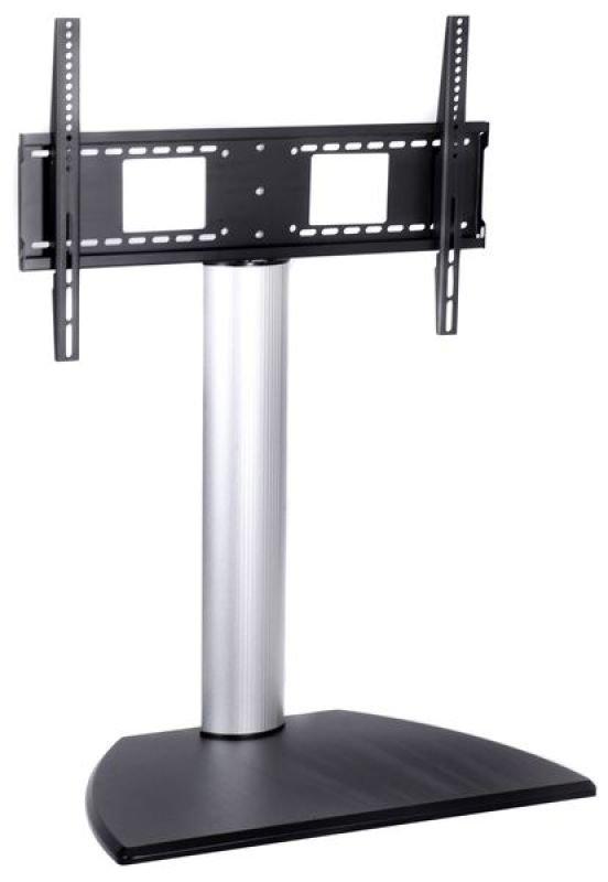 Image of Xenta 30 - 50 inch Black/Aluminium TV Stand