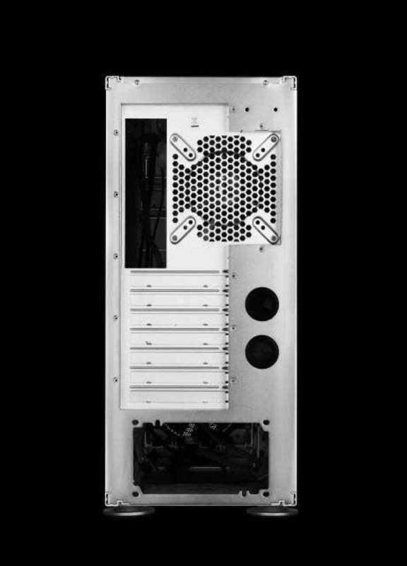 Hiper Osiris Silver Aluminium Mid Tower Case with 3x 120mm Fans - No PSU