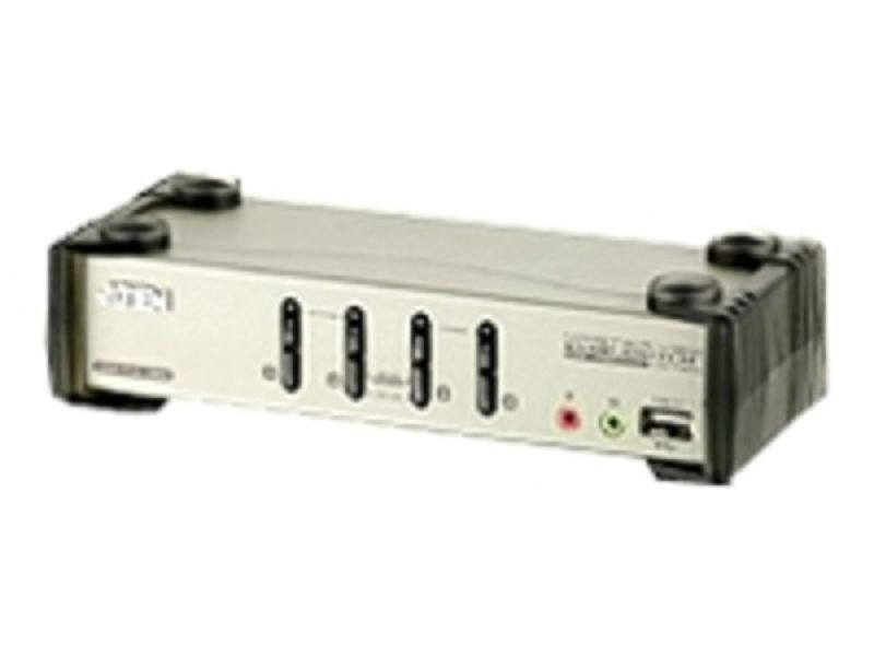 Aten 4-Port USB 2.0 KVM Switch with OSD