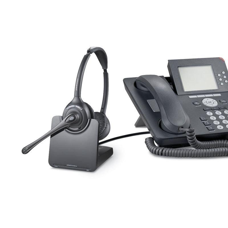 Plantronics Cs 520a Wireless Binaural Dect Headset Ebuyer