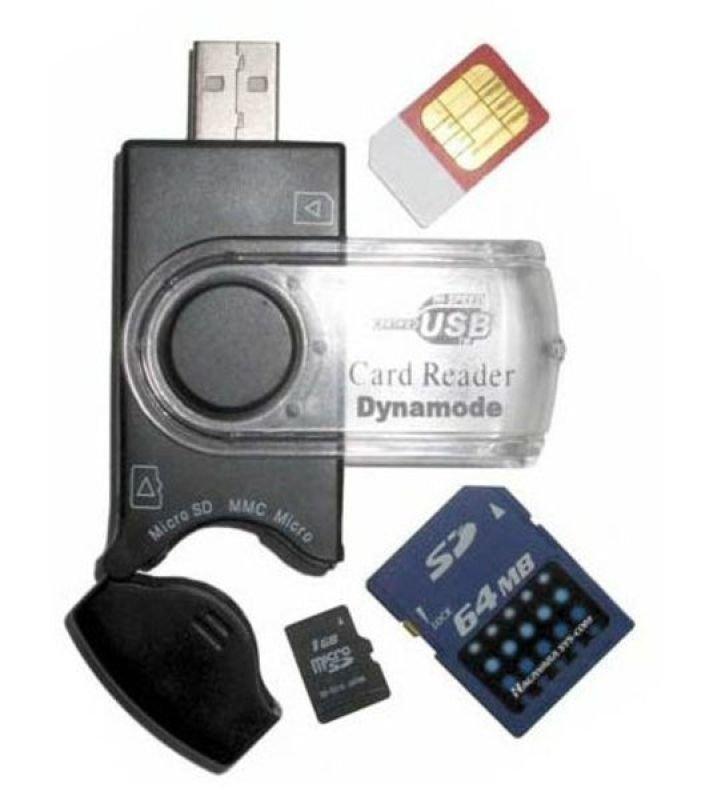 Dynamode Sim & Memory Card Reader
