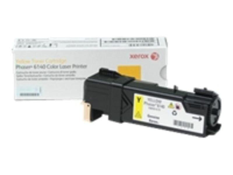 Xerox Phaser 6140 Yellow Toner Cartridge 106R01479