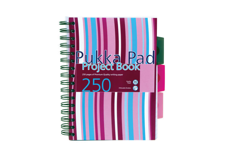 Pukka Pads A5 Project Book - 3 Pack