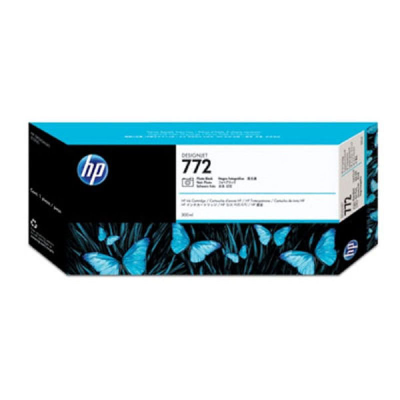HP 772 Photo Black Original Ink Cartridge - Standard Yield 300m - CN633A