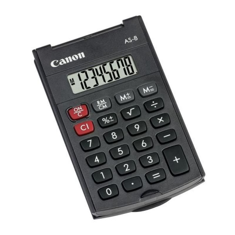 Canon As-8 Hb Handheld Calculator