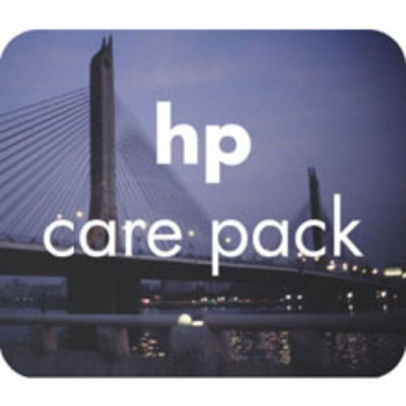 Electronic HP Care Pack - Extended service agreement for LaserJet 4100/4345 - parts and labour - 3 years - on-site
