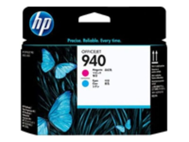 HP 940 Cyan and Magenta Printhead  C4901A