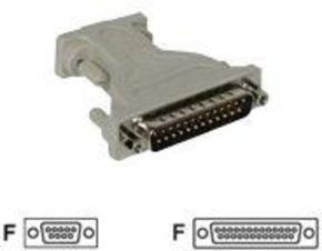 C2G, DB9F to DB25F Serial Adapter