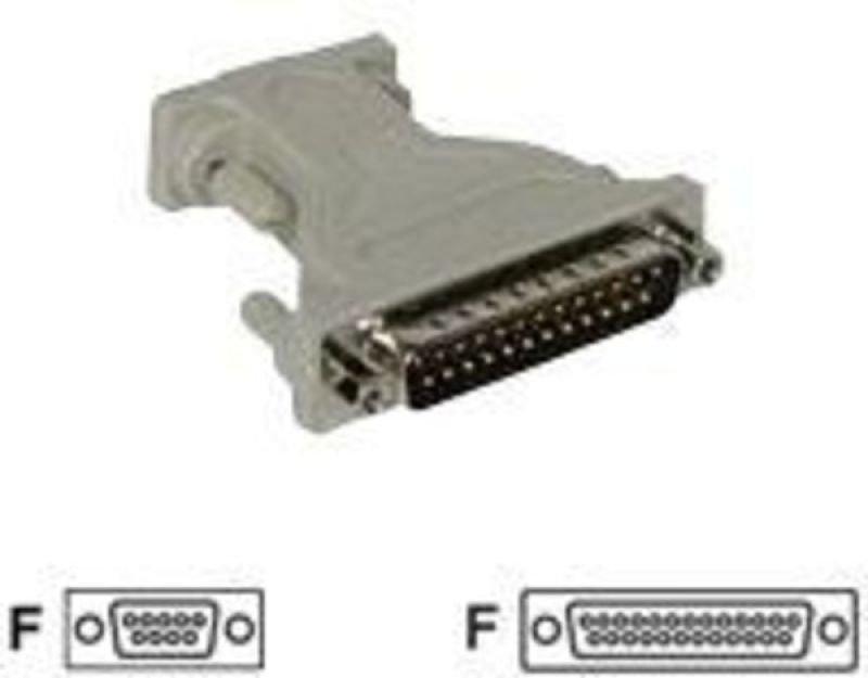 C2G, DB9F to DB25F Serial Adapter