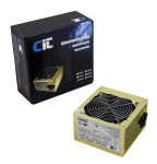 CIT Gold 500W Fully Wired Efficient Power Supply