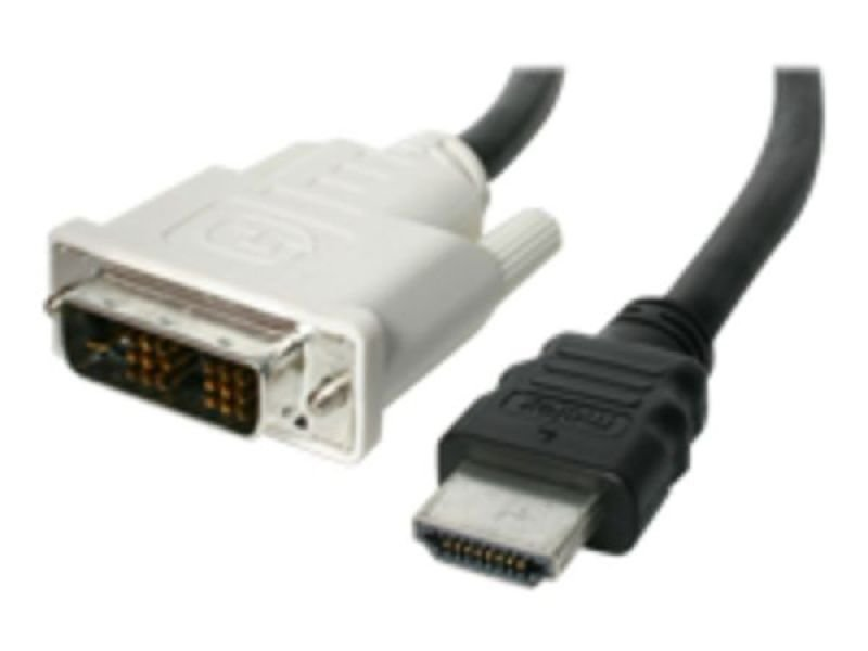 StarTech.com 5m HDMI to DVI-D Cable - M/M - 5m DVI-D to HDMI - HDMI to DVI Converters - HDMI to DVI Adapter