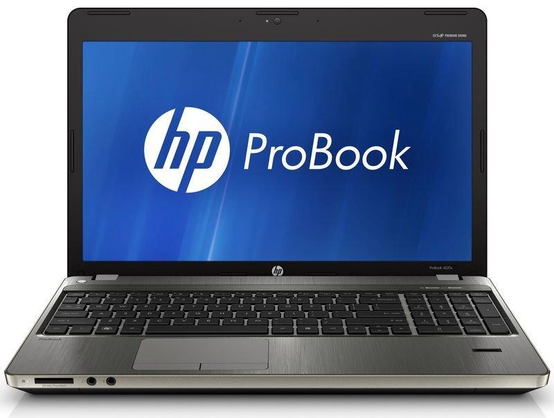 """Hp Probook 4535s Laptop, Amd A4-3305m 2.6ghz, 4gb Ram 500gb Hdd, 15.6"""" Hd Led, Dvdrw, Amd Hd6480g, Webcam, Bluetooth, Fpr, Windows 7 Professional 64 Bit"""