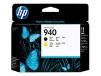 HP 940 Yellow and Black Printhead - C4900A