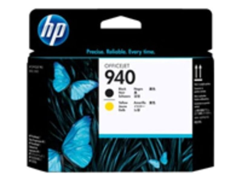 HP 940 Yellow and Black Printhead - C4900A