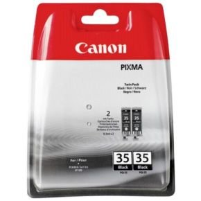 Canon PGI 35 Black Twin Pack Ink Cartridge- Blister Pack