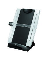 Fellowes Office Suites Copyholder with Memo Board - Black