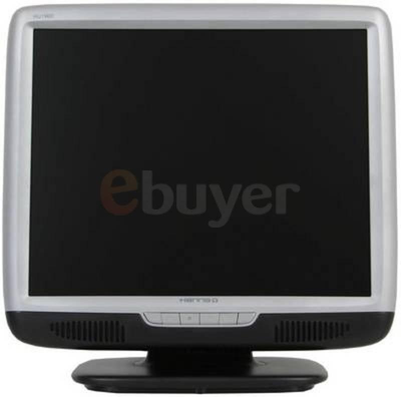 "HannsG HU196D 19"" 8MS 700:1 (1280 x 1024) Silver & Black DVI MultiMedia TFT Monitor 3 Years Onsite Warranty"
