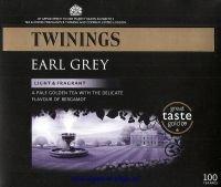 Twinings Earl Grey Tea Bag - 100 Pack