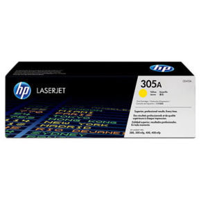 HP 305A Yellow Toner Cartridge - CE412A