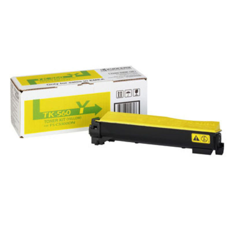 Kyocera TK560Y Yellow Toner Cartridge
