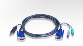 Aten Kvm Cable Usb Pc To Ps2 Switch  1.8m