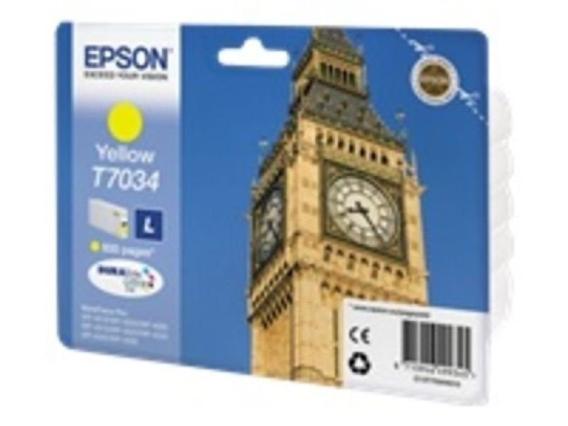 Epson T7034 Ink Cartridge L Yellow