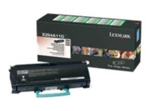 Lexmark 0X264A11G Return Program Black Toner Cartridge 3500 Pages