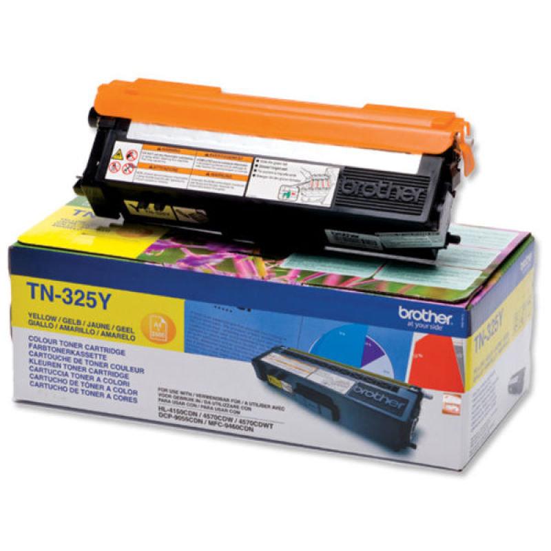 Brother TN-325Y Yellow Toner Cartridge