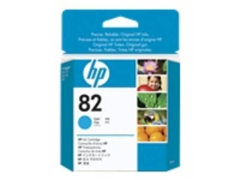 HP 82 Cyan Original Ink Cartridge - Standard Yield 28ml - CH566A