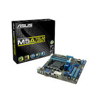 Asus M5A78L-M/USB3 AMD Socket AM3+ 8 Channel HD Audio mATX Motherboard