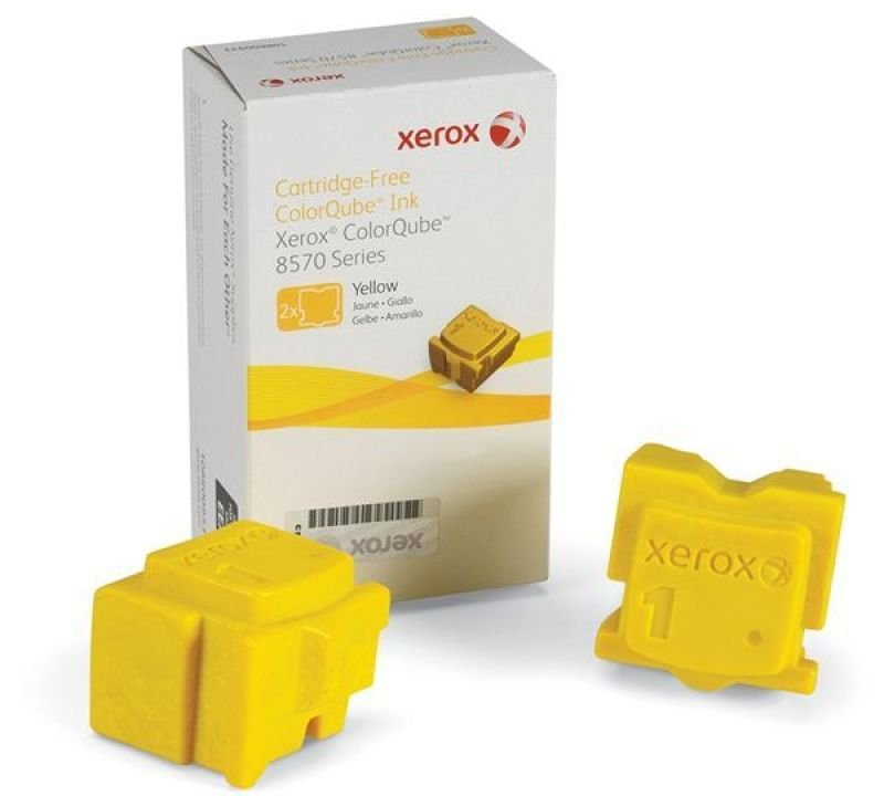 Xerox Solid Ink Sticks - Yellow - 2 Pack