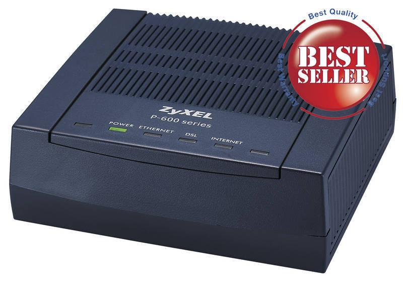 ZyXEL 91004556021B  Prestige 660RD1 ADSL Modem Router
