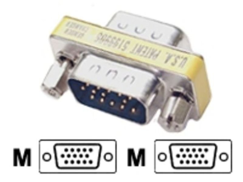 StarTech.com VGA HD15 Slimline Gender Changer