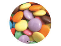 Fellowes Brite Mat Mouse Pad - Smarties