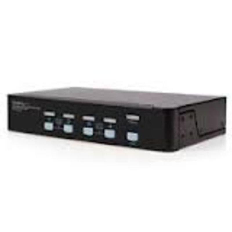 StarTech.com 4 Port High Resolution USB DVI Dual Link KVM Switch