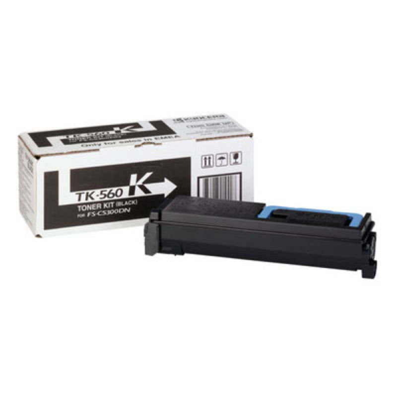 Kyocera TK 560K Black Toner Cartridge