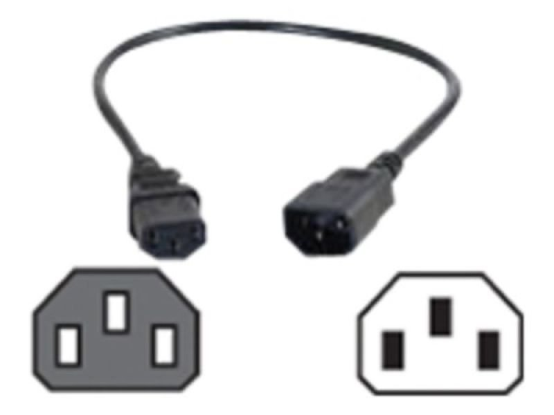 81138 1.8m POWER EXTENSION CORD C13-C14 14AWG