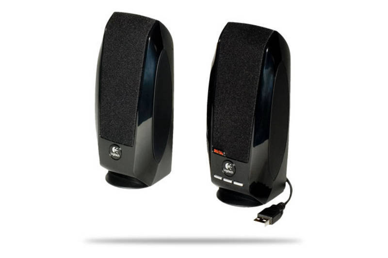 Logitech Black S150 2.0 USB Speakers