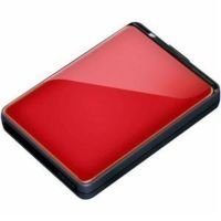 Buffalo 500GB MiniStation Extreme Red Hard Drive
