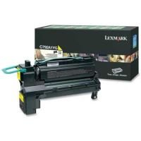 Lexmark Yellow C792 X792 Return Programme Toner Cartridge