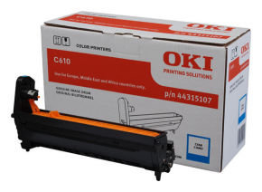 OKI Cyan Drum for C610 Series - 20k