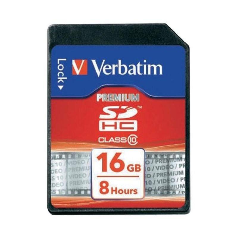 Verbatim 16GB Class 10 Secure Digital High Capacity Card