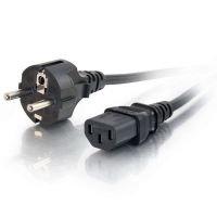 C2G, Universal Power Cord (CEE 7/7), 1m