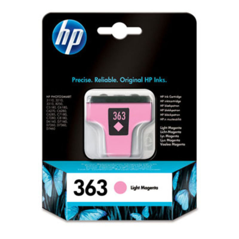 HP 363 Light Magenta Ink Cartridge  C8775EE