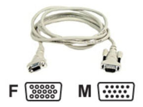 Belkin Pro Series VGA Monitor Extension Cable 1.8m