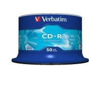 Verbatim 52x CD-R Discs - 50 Pack Spindle