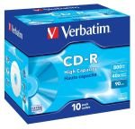 Verbatim High Capacity 90min CD-R - 10 Pack Jewel Case
