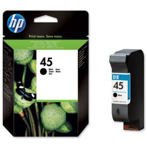 HP 45 Large High Yield Ink Cartridge - 51645AE