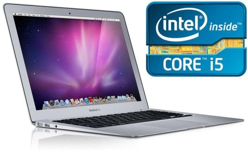 Apple Macbook Air Laptop, Intel Core I5 Dc 1.7ghz, 4gb Ram, 128gb Flash, 11.6 Led, Noopt, Intel Hd, Webcam, Bluetooth, Thunderbolt, Os X Lion