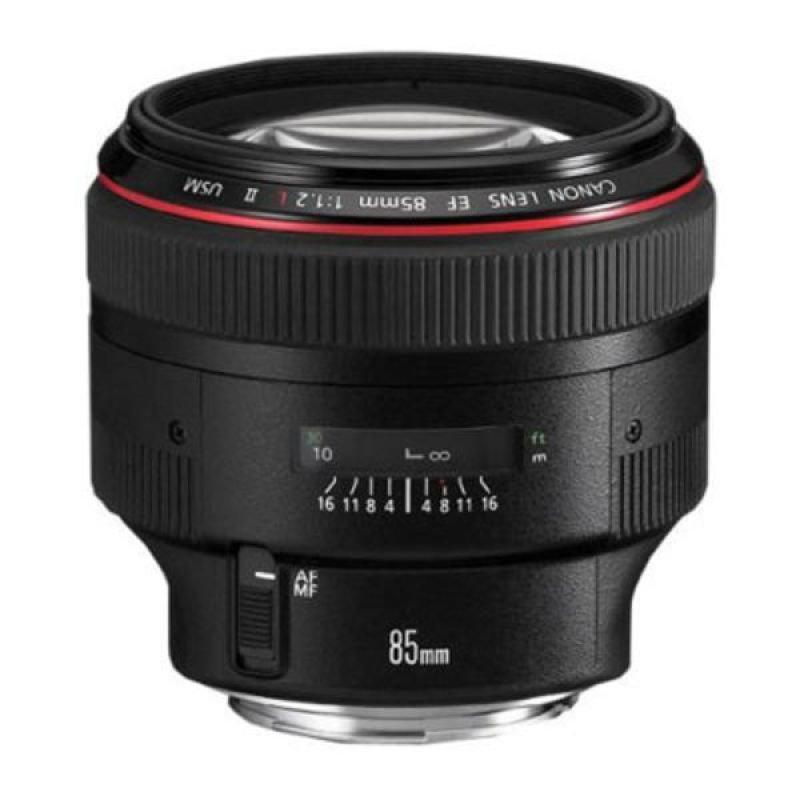 EF 85mm f/1.2 L USM II includes Lens Hood ES79/2, Lens Case LP1219, compatible with Filter Size - 72mm (L type lens)